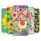 HEAD CASE DESIGNS SUNFLOWER SOFT GEL CASE FOR SAMSUNG PHONES 3