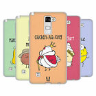 HEAD CASE DESIGNS YUMMY DOODLE SOFT GEL CASE FOR LG PHONES 3