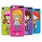 HEAD CASE DESIGNS COOL GIRLS SOFT GEL CASE FOR APPLE iPOD TOUCH MP3