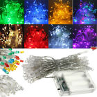 Battery  LED Funky ON/ Twinkling Lamp Fairy String Lights 5M Christmas Wedding