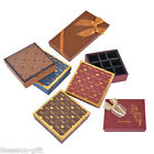 1PC New Fashion Rectangle Gift Box Slots Chocolate Box Rose Pattern Packing