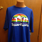 NWT NBA MAJESTIC MENS DENVER NUGGETS SHORT SLEEVE SHIRT SIZE 2X-6X