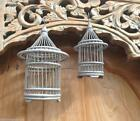 1 x Balinese Grey Handmade Decorative Mini Bamboo Birdcage -Choice of Size #1667