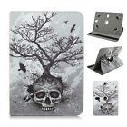 """Tree Skull Folio Leather Rotating Stand Case for Google Nexus 7 4G LTE 7"""" 7inch"""