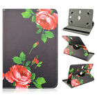 """Cute Roses Folio Leather Rotating Stand Case for Google Nexus 7 4G LTE 7"""" 7inch"""