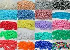 200 - 11mm Opaque Tri Beads Made in USA - Color Choice