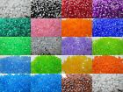 200 - 11mm Translucent tri bead Made In USA - Choice of Color