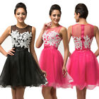 STOCK Short Prom Formal Homecoming Cocktail Gown Bridesmaid Evening Party Dress