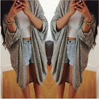 Fashion Women Oversized Long Sleeve Sweater Knitwear Cardigan Tops Coat Hot Sale