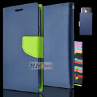 For BLU Vivo 5 Leather PU WALLET POUCH Colors