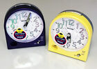 Stylish Metallic Silent Bedroom Alarm Clock Loud Beep Alarm Snooze Light No Tick