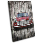 Shabby Chic Mini Vintage SINGLE CANVAS WALL ART Picture Print