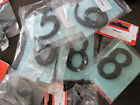 "2 1/2"" 65mm BLACK IRON NUMBERS OLDE WORLDE BRITISH MADE QUALITY PRODUCT"