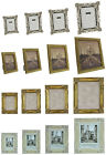 Ornate Antique Vintage Art Deco Style Photo Frame Picture Distressed Shabby Chic