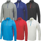 Puma Golf 2015 Mens Solid 1/4 Zip Popover Sweater Pullover Stretch Top 569113