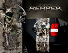 Bow Reaper Camo Truck Bed Band Stripes Decal Sticker Graphics Wraps NEW