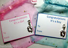 New Baby Feet It's a Girl It's a Boy Congratulations European Clip-on Charm