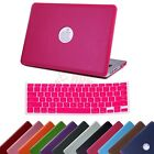 MacBook Pro 13 Inch Non-Retina Case Hard Shell PU Leather Cover + Keyboard Skin