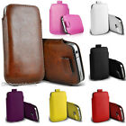 PU Leather Pull Tab Pouch Bag Holster Case Cover Sleeve For Apple iPhone 5 5S 5C