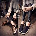 Women Fashion Canvas Slip On Casual Comfort Shoes Sneakers Loafers Size 6~8