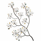 Clearance 3D Large Metal Tree Colour Flower Jewells Hanging Floral Wall Art