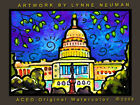 30x40 Inch PAINTING *United States Capitol #2632* L Neuman EBSQ
