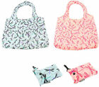 DRAGONFLY CLIP BAG/BAGS-FOLDABLE FOLDING SHOPPING TOTE SHOPPER- KEEP IN HANDBAG