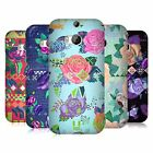 HEAD CASE DESIGNS SUMMER BLOOMS HARD BACK CASE FOR HTC ONE M8
