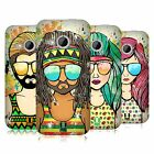 HEAD CASE DESIGNS SUMMER HIPPIES HARD BACK CASE FOR HTC ONE MINI 2