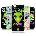 HEAD CASE DESIGNS ALIEN EMOJI SOFT GEL CASE FOR APPLE iPHONE 5C