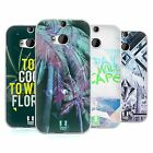 HEAD CASE DESIGNS TROPICAL TRENDS SOFT GEL CASE FOR HTC ONE M8