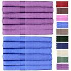 SET OF 6 LUXURY LARGE SUPER SOFT COTTON BEACH BATH TOWELS BALE SET BATHROOM GIFT