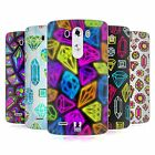 HEAD CASE DESIGNS VIVID PRINTED JEWELS SOFT GEL CASE FOR LG G3