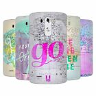 HEAD CASE DESIGNS WANDERLUST STATEMENTS SOFT GEL CASE FOR LG G3