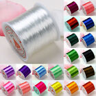 0.5mm Colorful Elastic Stretch Jewelry Beads String Cord Thread 80 Yard Findings