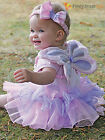 Baby Toddler Deluxe Fairy Costume Girls Fairytale Fancy Dress Up Instant Set