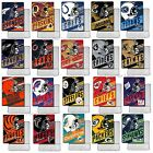 "New NFL Throw Blanket Blankets Foot Pocket Officially Licensed 46"" x 60"" $42.95 USD on eBay"