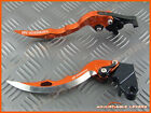 Suzuki SV650 / S 1999 - 2009 CNC Long Blade Adjustable Brake Clutch Levers