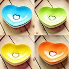 Cute Heart Shape Soap Holder Home Soap Dish Case Bathroom Soap Container 13cm