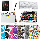 "For Amazon Kindle Fire HDX 7"" PU Leather Stand Cover Case W/ Bluetooth Keyboard"
