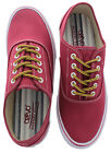 Crevo Captain Men's Canvas Sneakers Shoes Memory Foam Preppy