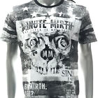 m345w Minute Mirth T-shirt Sz S M L XL Tattoo LTD SPECIAL TECHNIQUE Rose Fashion