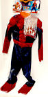 Spiderman Spider-Man 2 Muscle Child  Costume Mask Gloves S M L NWT