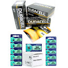 Genuine DURACELL & SONY Silver Oxide Watch Batteries [All Sizes] 1 2 4 x QTY