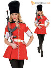 Ladies Royal Guard Costume Adults British Soldier Fancy Dress Sexy Armed Outfit