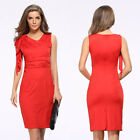 Women's Bandage Bodycon Slim Evening Party Sexy Clubwear Cocktail Pencil Dress