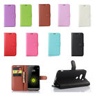 9 Colors Wallet Flip Leather Cover Case For Xiaomi Mobile Phone 38