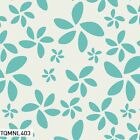 MINIMALISTA FLORAL AQUA ART GALLERY QUILT SEWING QUILT FABRIC Free Oz Post