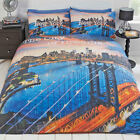 New York City of Dreams Duvet Cover Bedding Set with Pillow Case - Bedroom