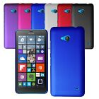 For Microsoft Lumia 550 Slim Armour Hard Case Clip On Back Cover & Screen Film